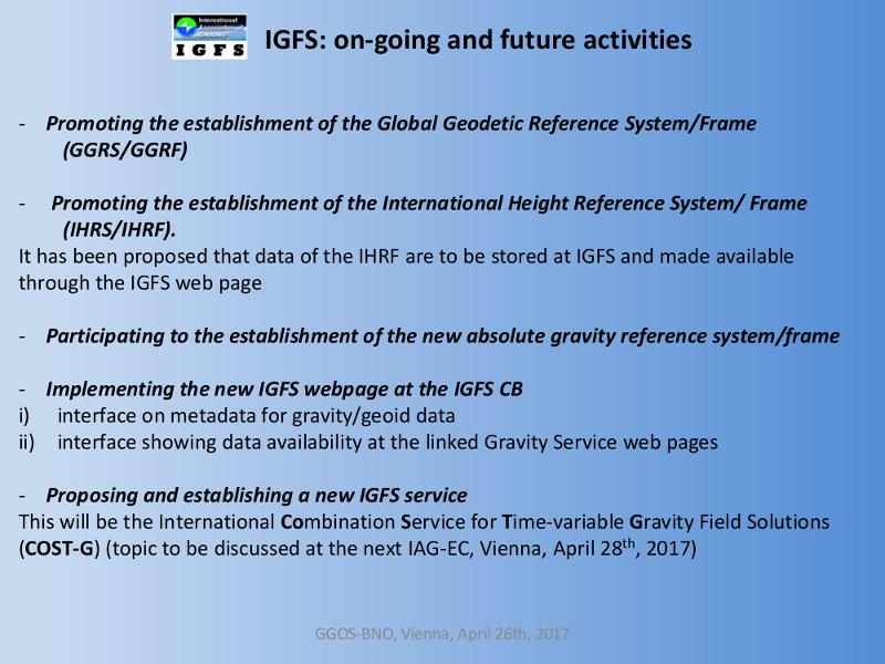 IGFS GGOS BNO Presentation