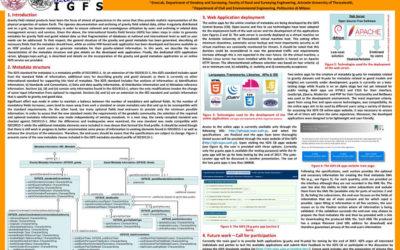 IGFS g-metadata service poster presentation @IAG2017 Kobe, Japan